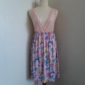 Peter Alexander Pink Slip Nigthgown  - Size S